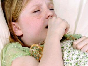 Кашель при заболевании легких у детей