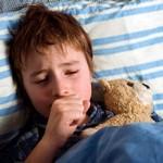 ребёнок больной бронхитом кашляет