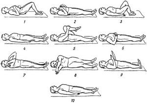 пример гимнастических упражнений для лечения пневмосклероза