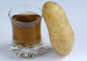 картофельный сок и картофель