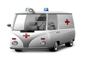 машина неотложной скорой помощи