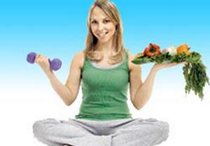 занятия спортом и правильное питание повышают иммунитет
