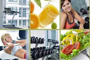 коллаж здоровый образ жизни