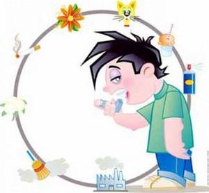 основные причины вызывающие астму