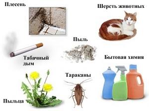 причины вызывающие астму