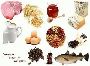 продукты вызывающие аллергию
