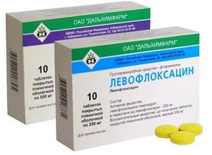 антибиотик левофлоквацин