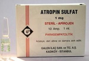 лекартсвенный препарат атропин