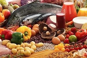овощи фркты мясо и рыба - основа меню