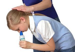 правила промывания носа детям