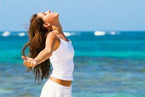 облегчение дыхания при промывании носа