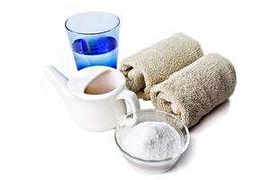 Как промыть солевым раствором нос