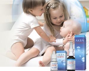 капли и спрей детский аквамарис