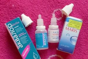 какой препарат лучше: аквалор или аквамарис