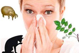 типичные виды аллергии