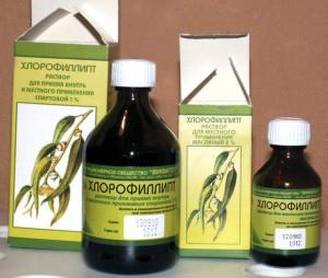 масляный раствор Хлорофиллипт