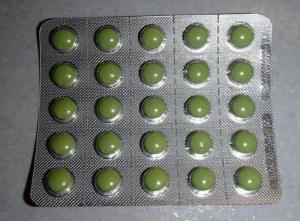 блистер с таблетками