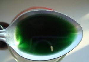 чайная ложка хлорофиллипта