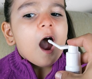 обработка горла