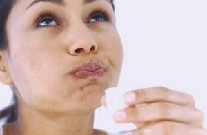 полоскание рта и горла