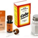 Пропорции раствора соли, соды и йода для полоскания горла