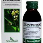 Можно ли использовать Хлорофиллонг для полоскания горла