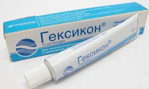 Хлоргексидин в виде крема