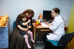 консультация с педиатром