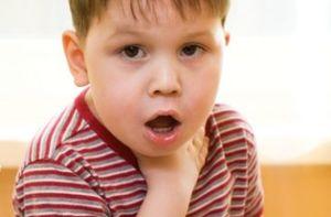 больное горло у ребенка