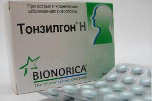 тонзилгон таблетки