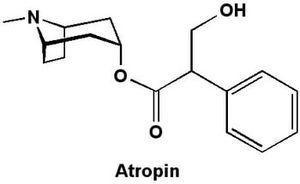 формула атропина