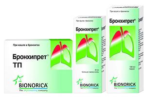 Препараты Бронхипрет