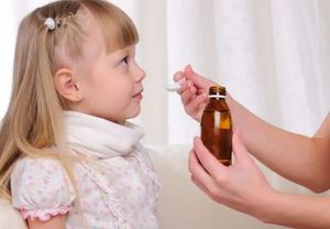 сироп от кашля ребенку