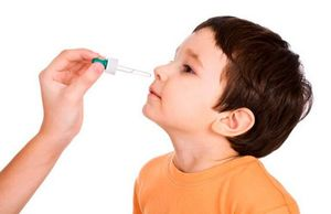 закапывание носа ребенку